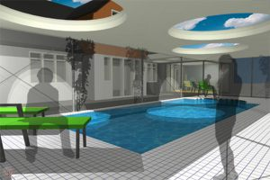 Pool Extension Milford on Sea